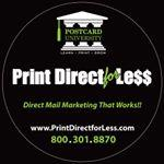 Print Direct for Less