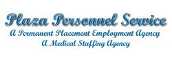 Plaza Personnel Service Medical Staffing